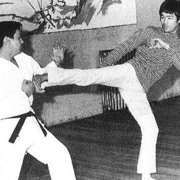 Bruce Lee visited George Mattsons Dojo once and Jim sparred Bruce; in fact there is a picture in Bruce Lee's book with Jimmy and Bruce squaring off.