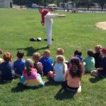 Teaching Kids in the park